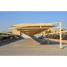 تركيب مظلات مواقف سيارات بالدواسر - مشاريع مظلات - اعمال الهناجر - تركيب مظلات الحدائق البلديه - 0535553929