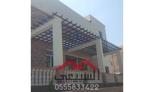 جلسات برجولات, جلسات مظلات, تركيب جلسه حديقة, مظلات خشبية, الرياض, 0508974586